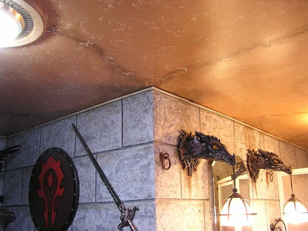 Wow Players Remodel Their Bathroom Horde Theme