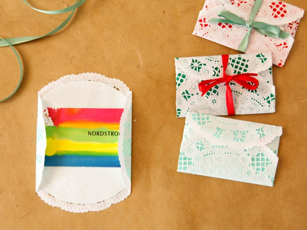 Wrap Gift Cards Christmas Tos Diy