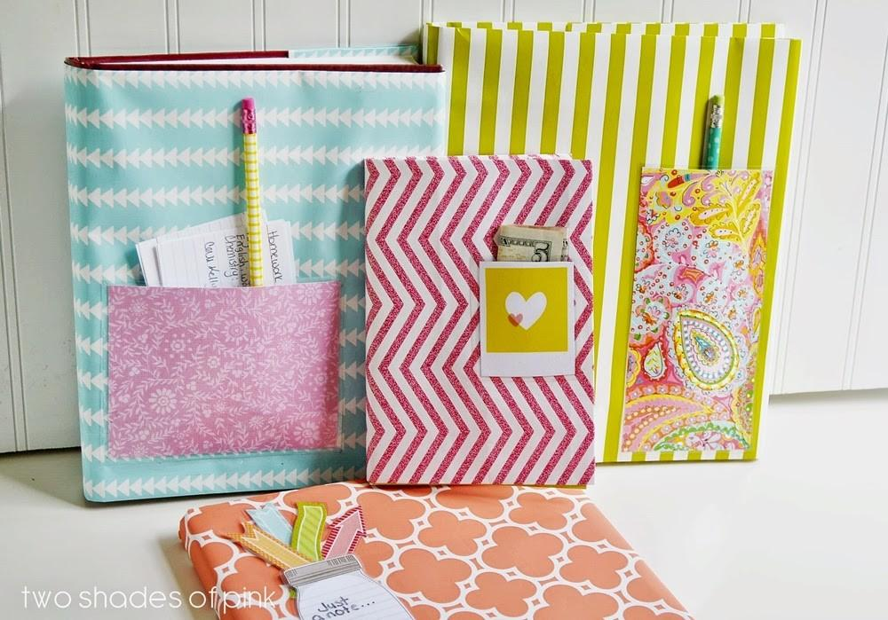 Wrapping Paper Book Covers Eighteen25