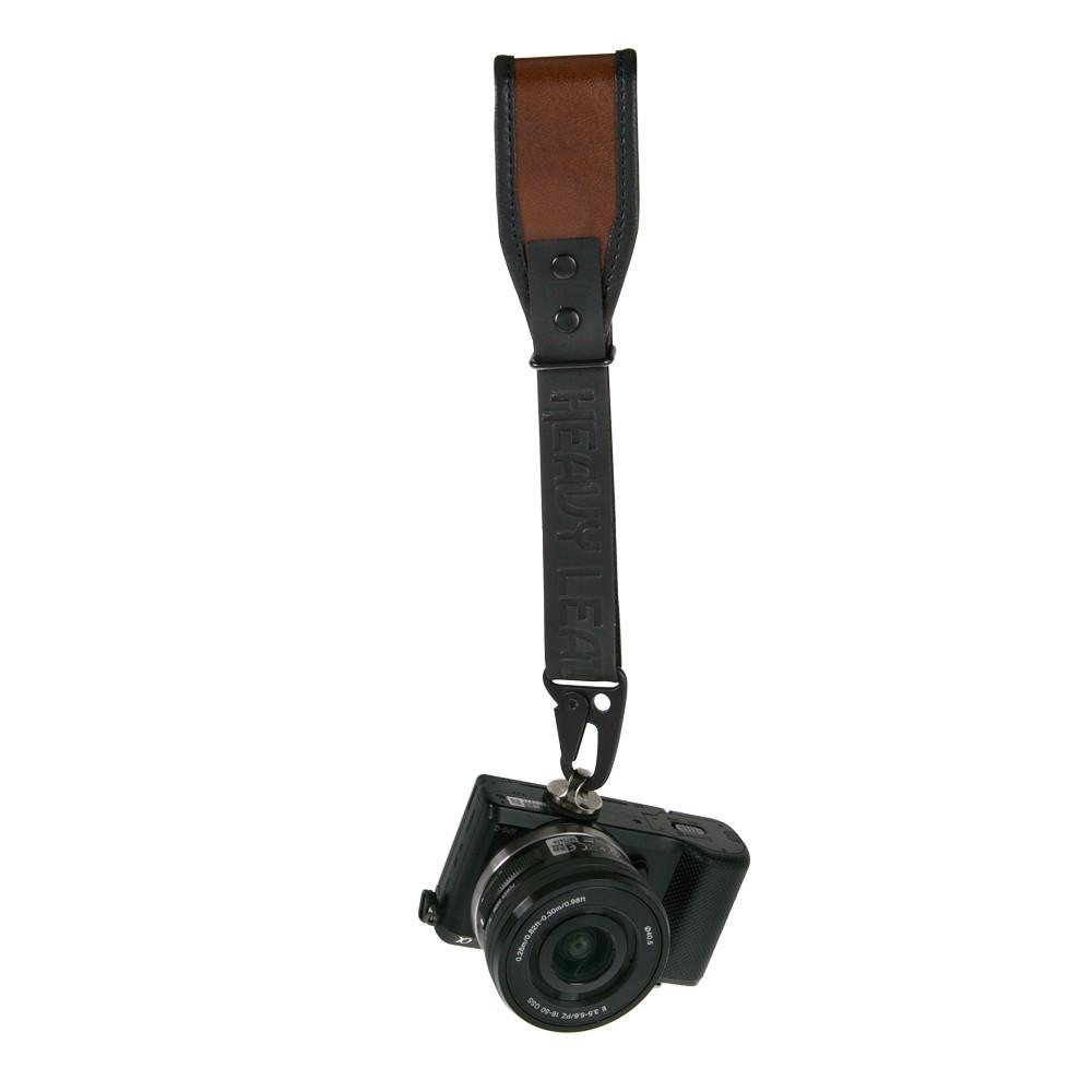 Wrist Camera Strap All Leather Heavy Nyc