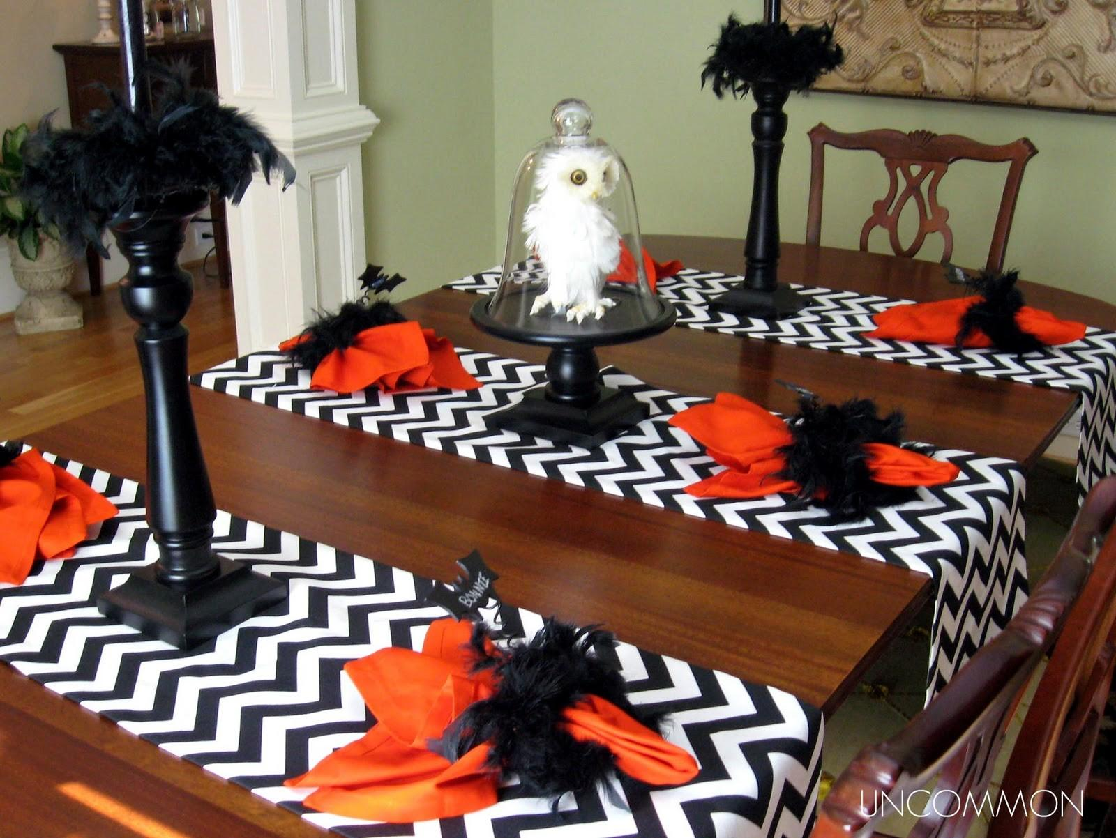 Written Wall Halloween Tablescape Now Some