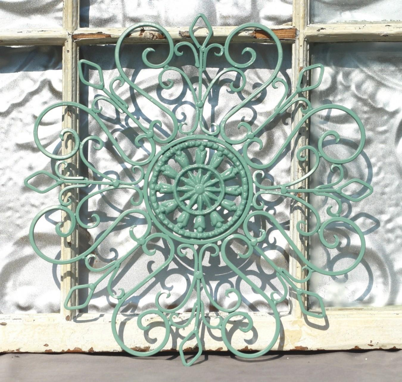 Wrought Iron Wall Decor Metal Hanging Indoor