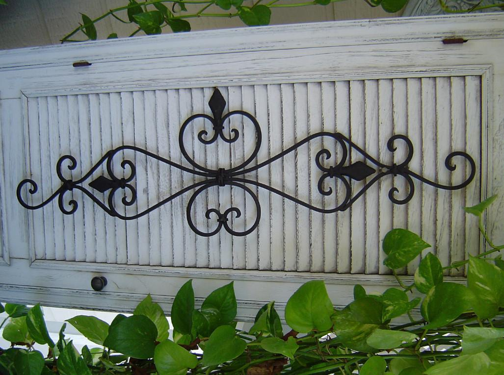 Wrought Iron Wall Decor Outdoor Reflection Your