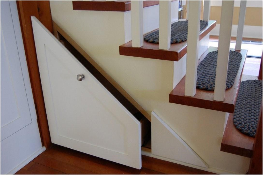 Wrought Iron Wood Storage Under Stairs Staircase