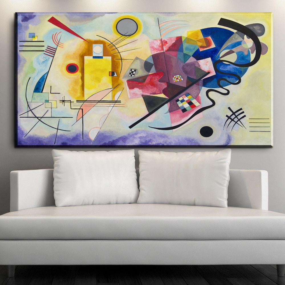 Xdr603 Wassily Kandinsky Painting Diy Frame Art Posters
