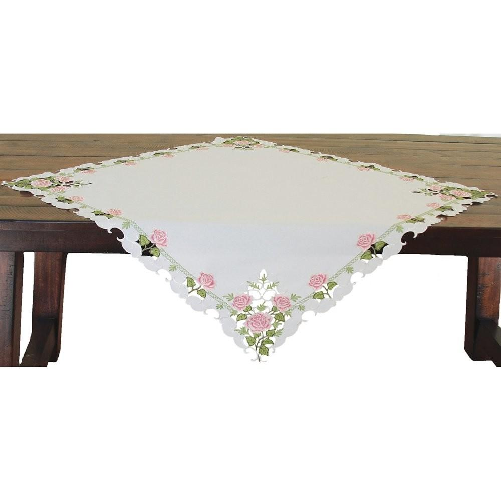 Xia Home Fashions Xd Summer Rose Embroidered