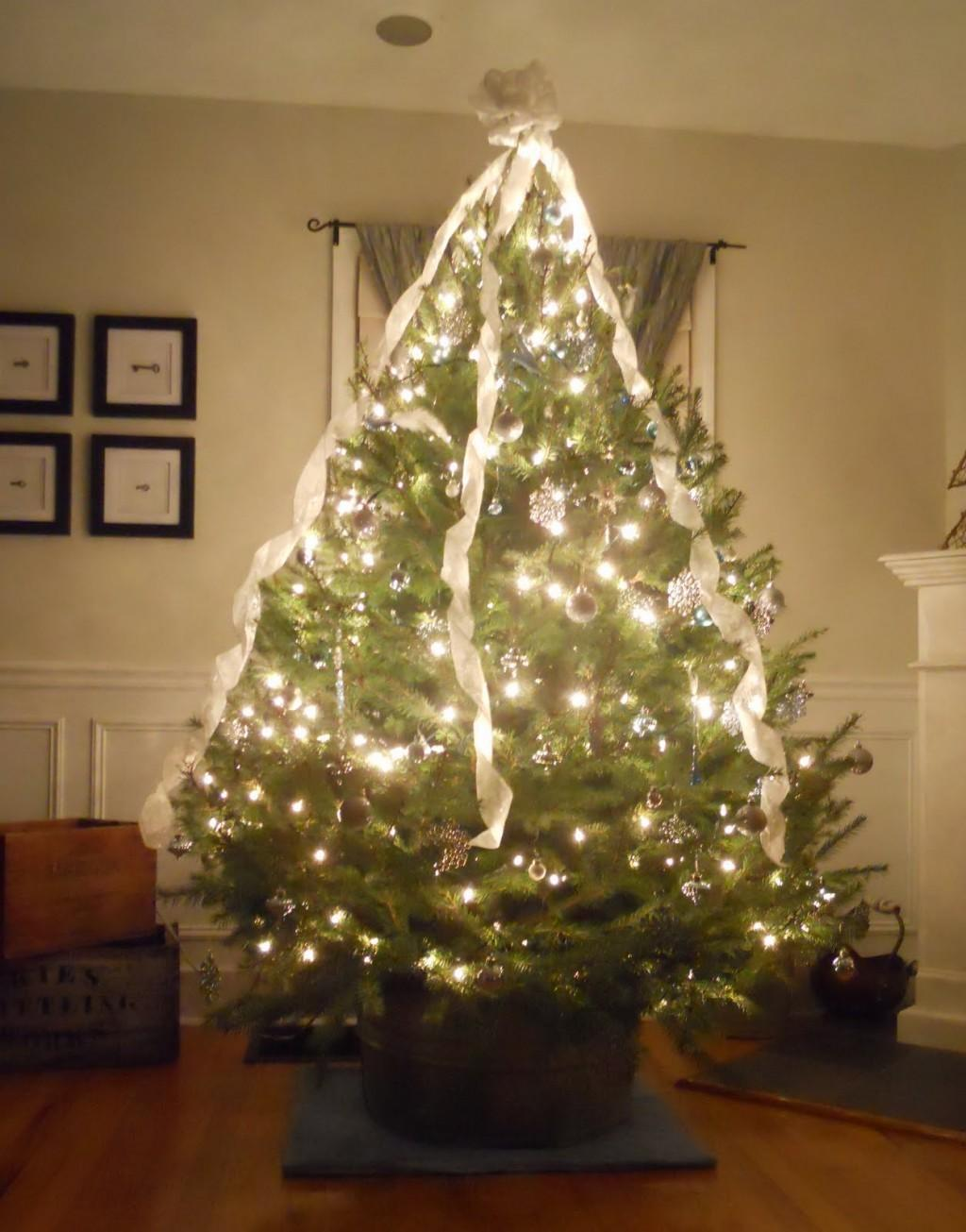 Xmas Tree Decorating Ideas Cool Small Natural