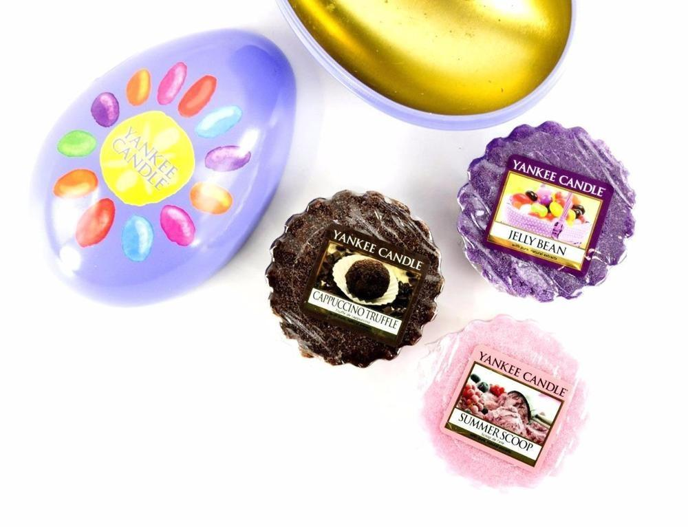 Yankee Candle Easter Egg Gift Set Wax Melts Metal