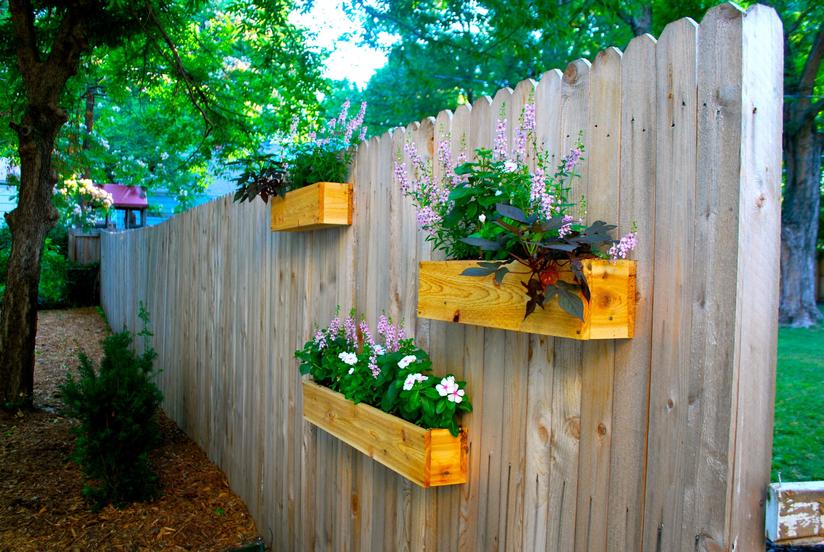 Yard Diy Cedar Planter Boxes Suburban