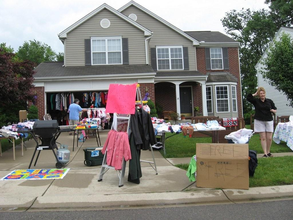Yard Sale Shopping 101 Tips Finding Garage