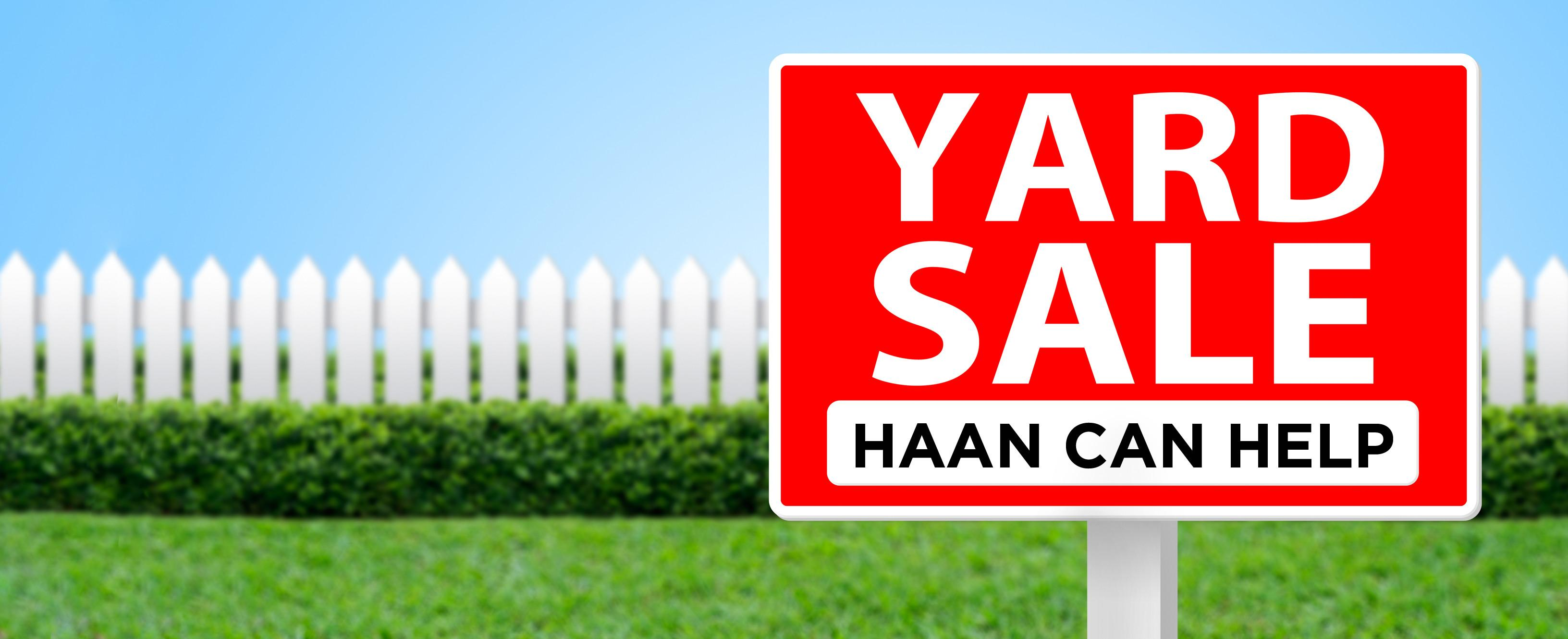 Yard Sale Tips Haan Usahaan Usa