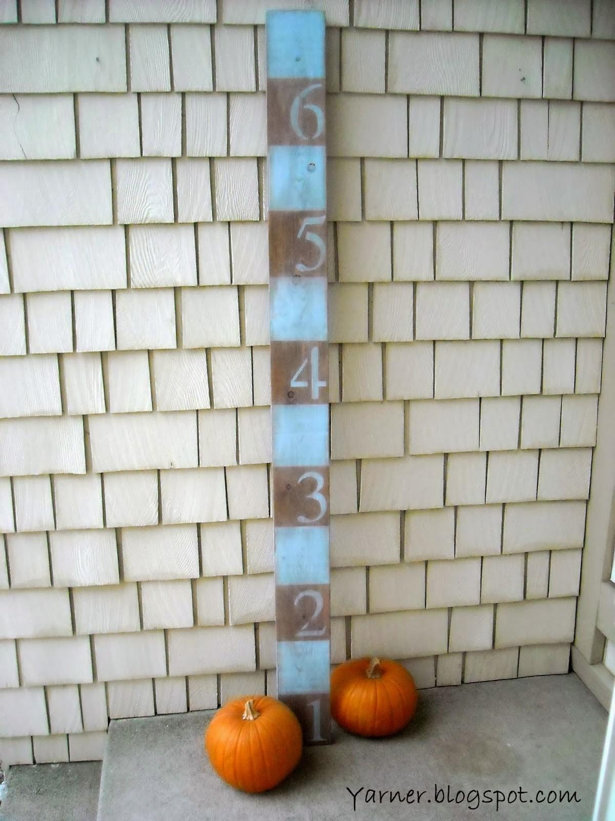 Yarner Diy Growth Charts Annie Sloan Chalk Paint