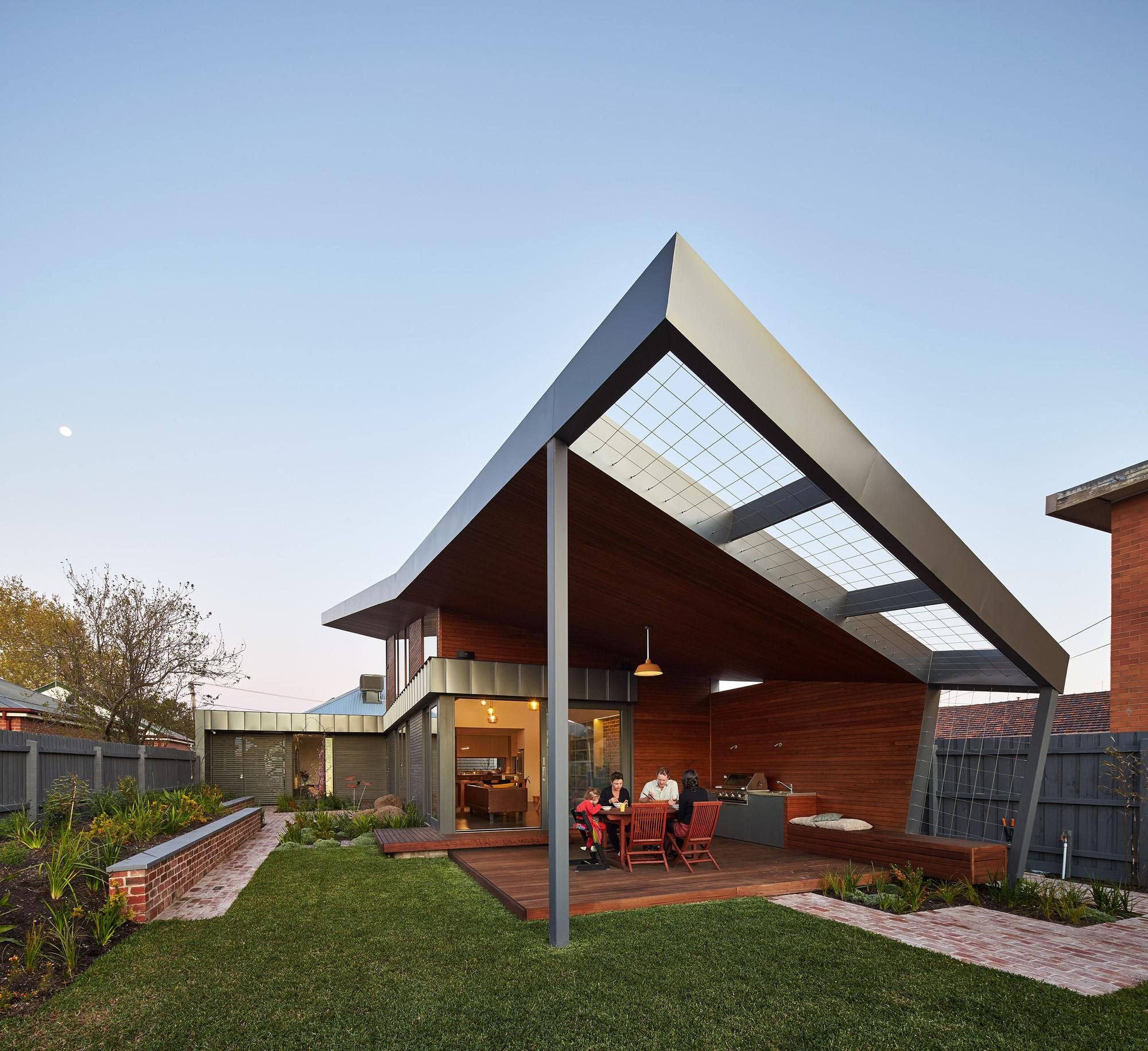 Yarraville Garden House Guild Architects