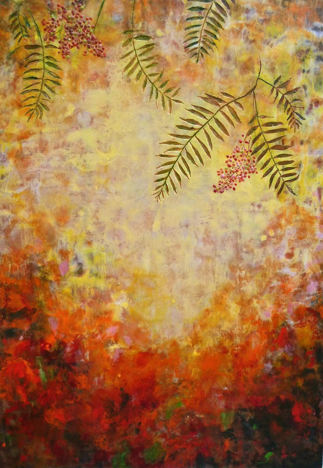 Years Making Art Finished Encaustic Painting