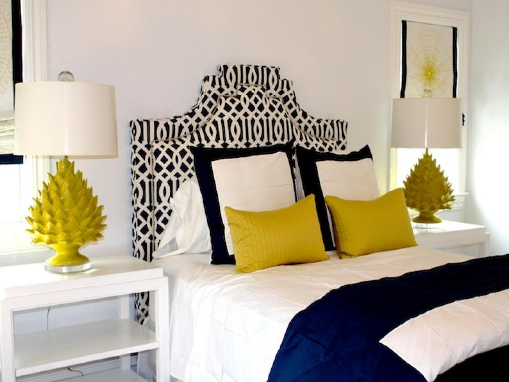 Yellow Blue Bedrooms Navy Bedroom