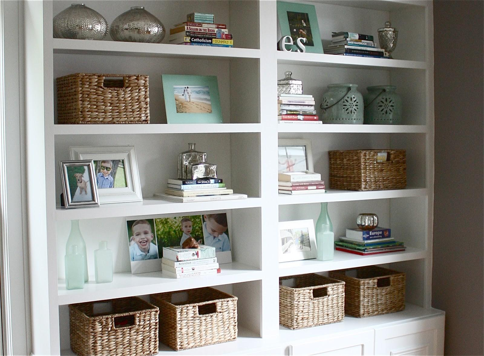 Yellow Cape Cod Four Simple Steps Great Bookcase