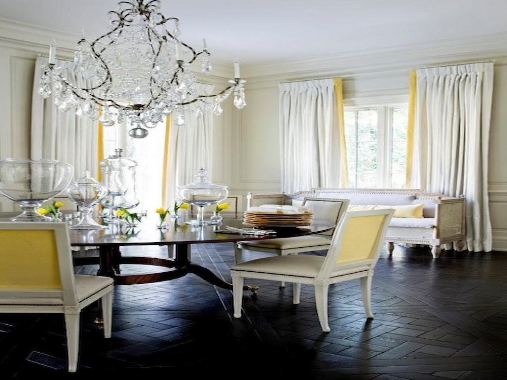 Yellow Dining Rooms Inspiration