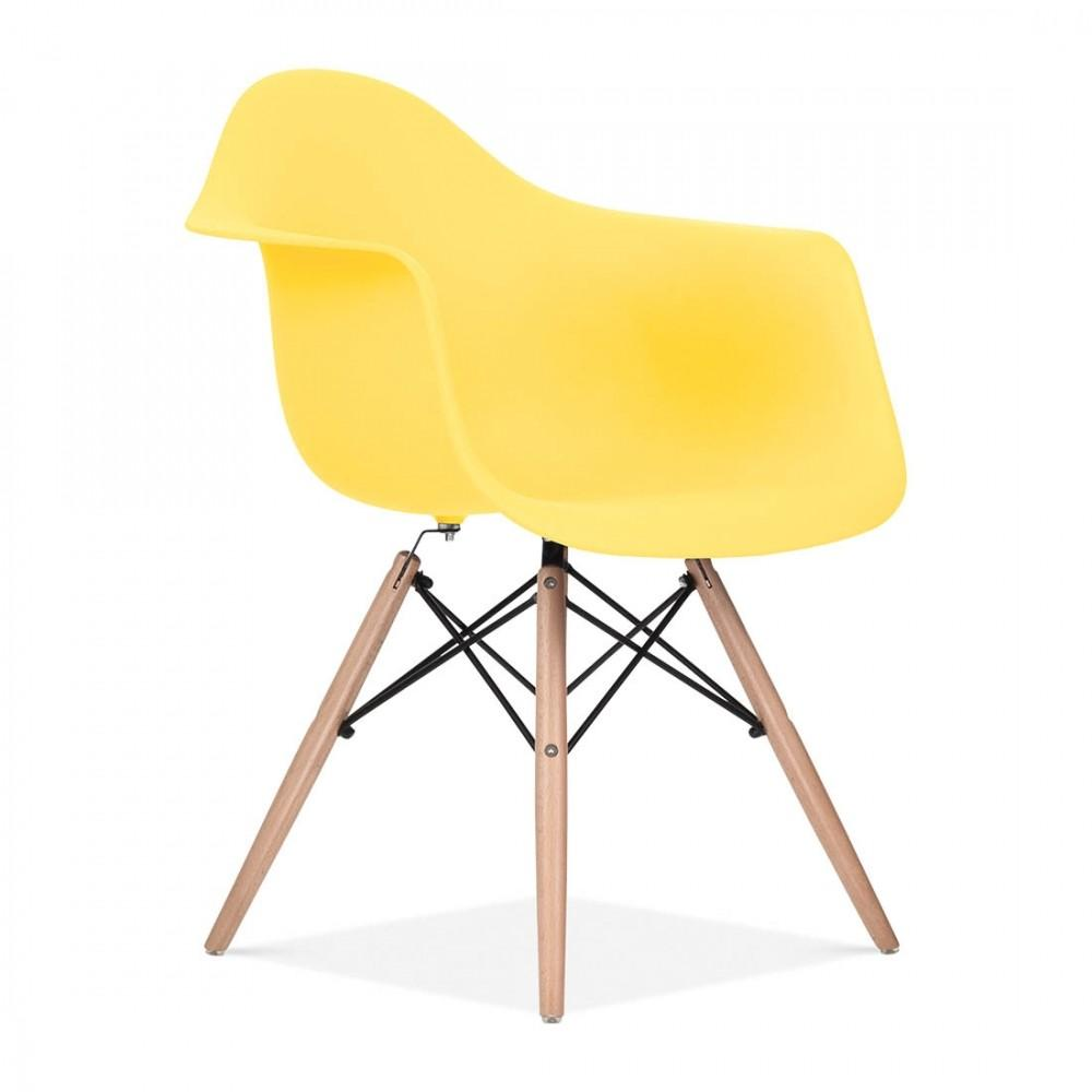 Yellow Eames Style Daw Chair Side Cult Furniture