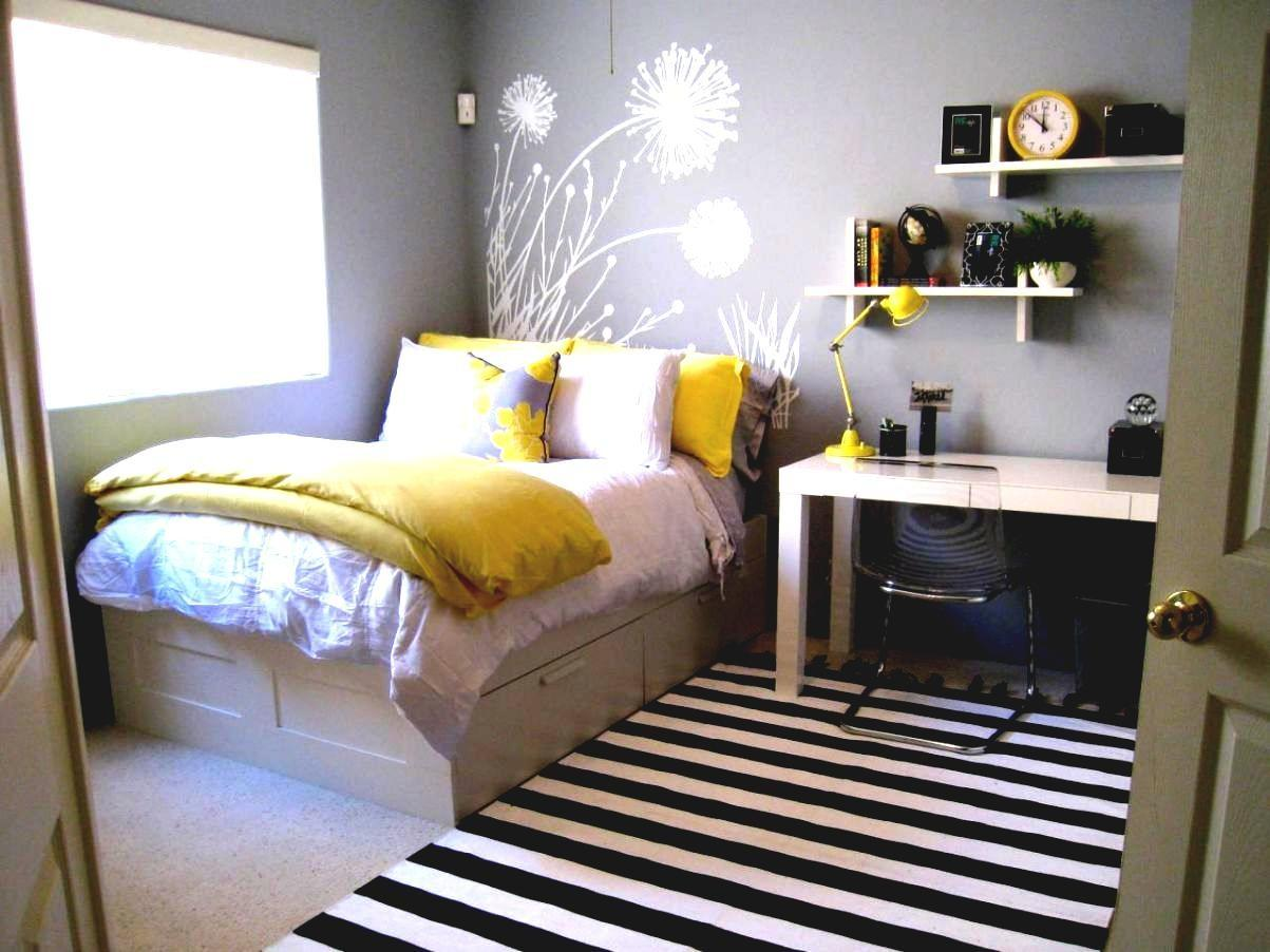 Yellow Gray Bedroom Decorating Ideas Decor - Decoratorist - #11