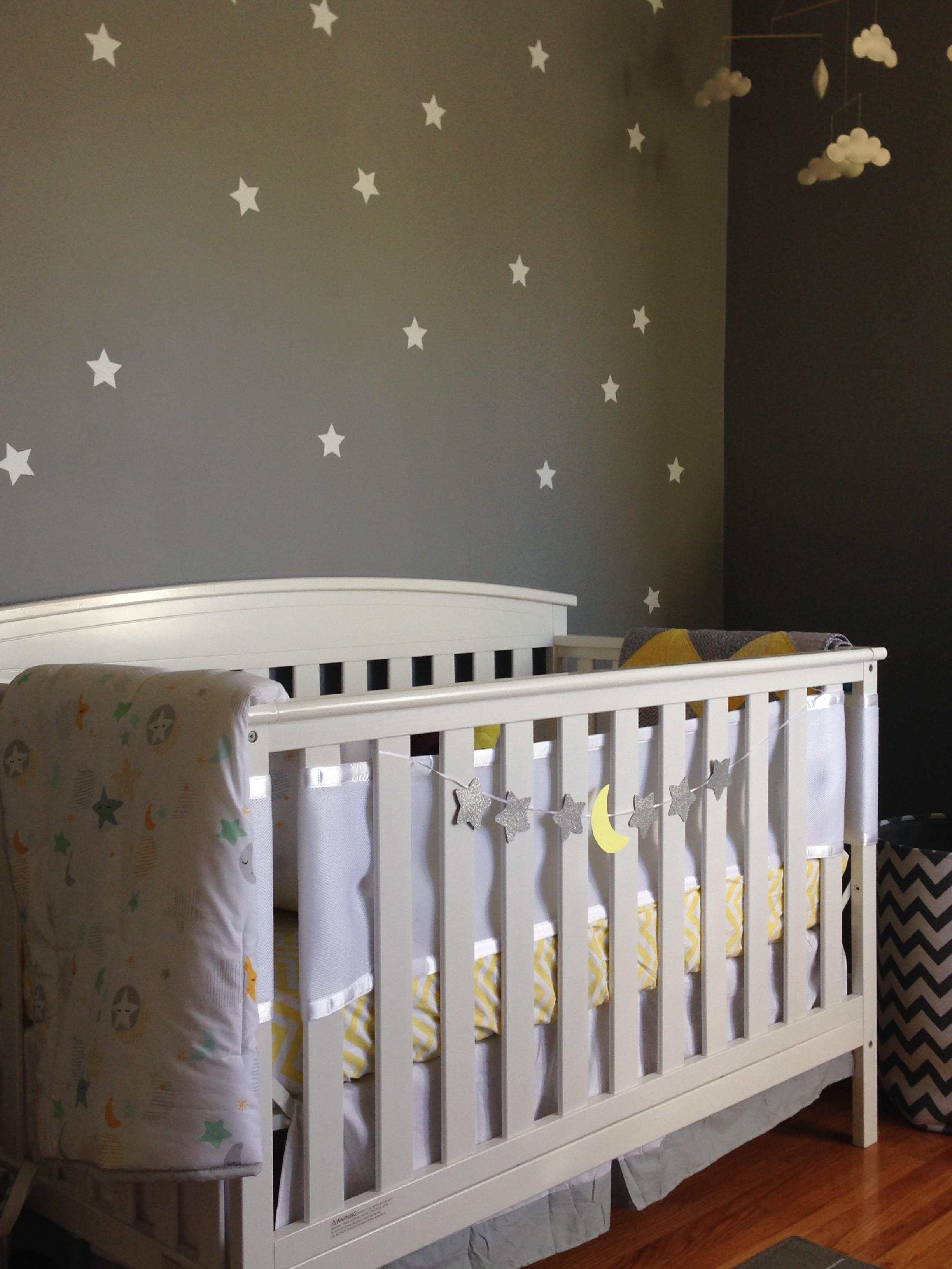 Yellow Gray Celestial Nursery Project
