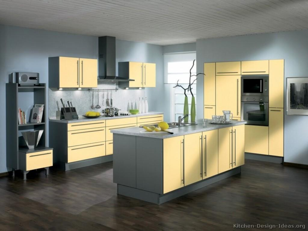40 Innovative Gray Yellow Kitchens That Is Best For Your House In