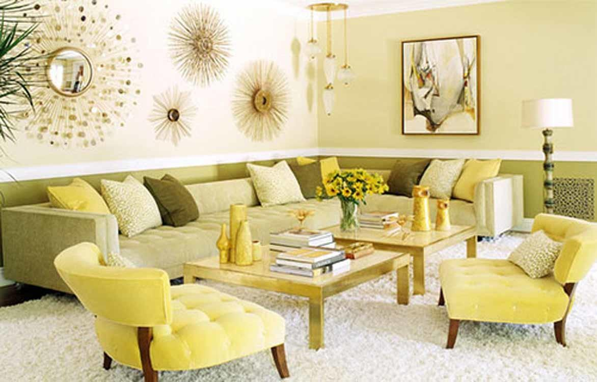 Yellow Living Room Ideas Small