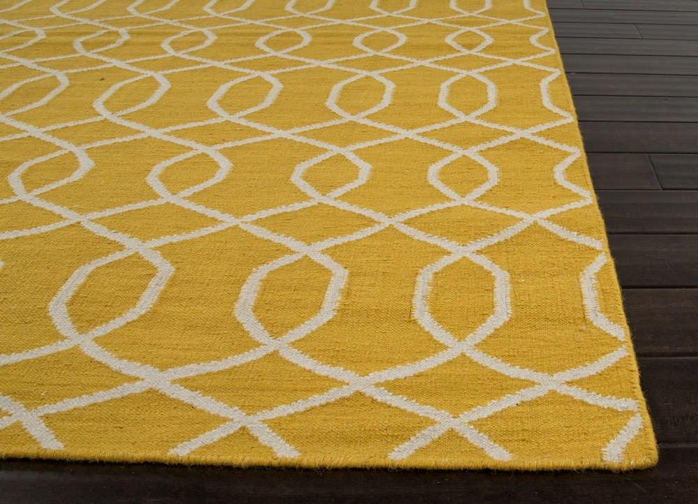 Yellow Rug Apartment Therapy