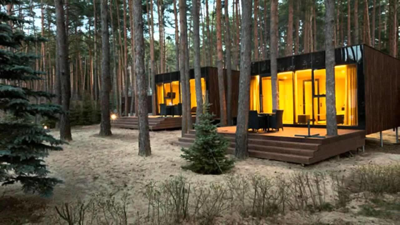 Yod Design Lab Modern Cabins Mirror Forest