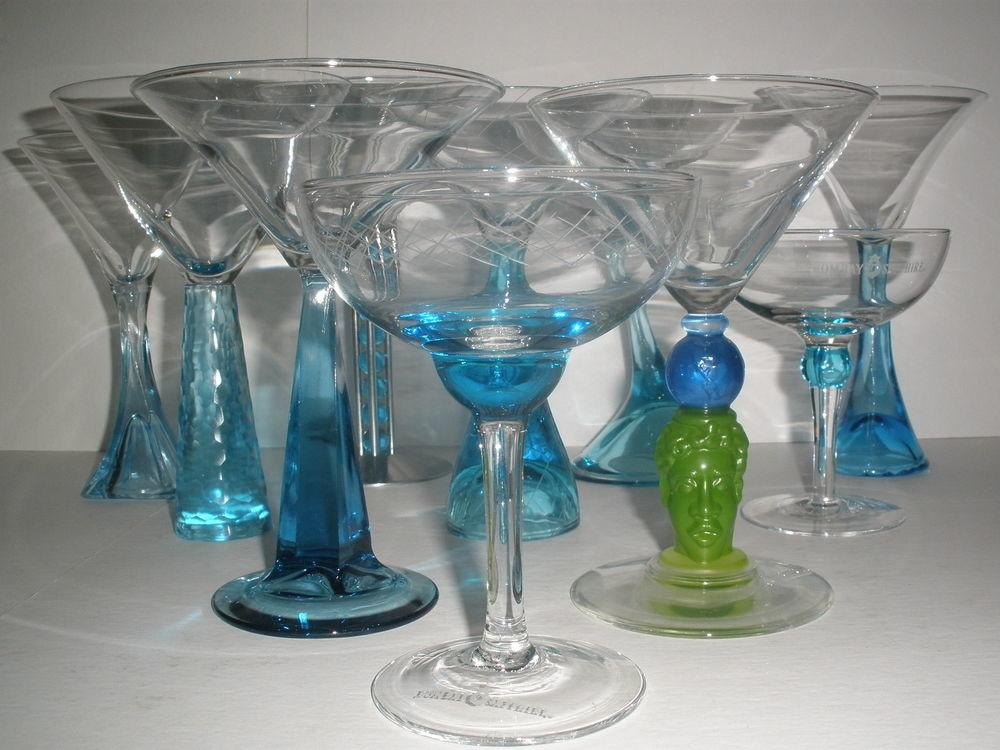Your Choice Bombay Sapphire Gin Martini Glasses