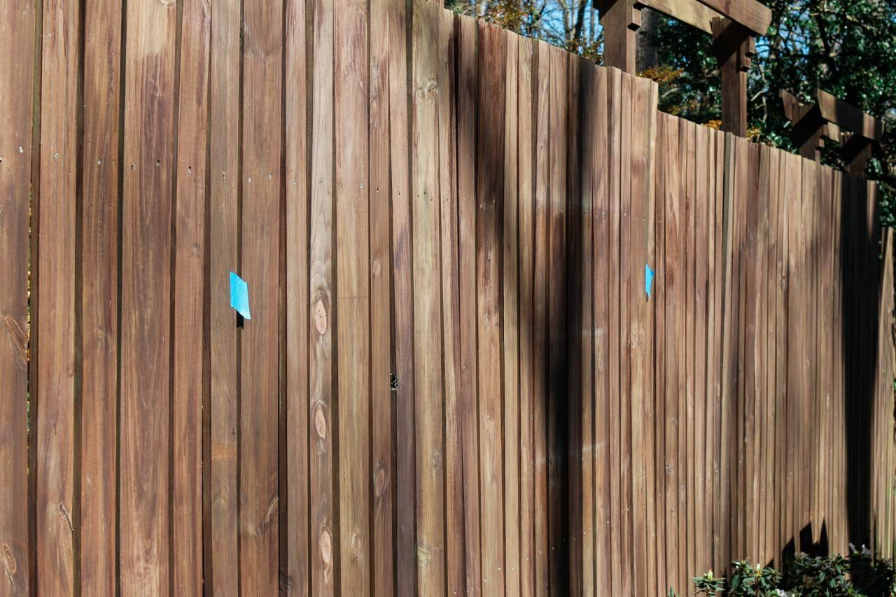 Your Fence Colorful Mural