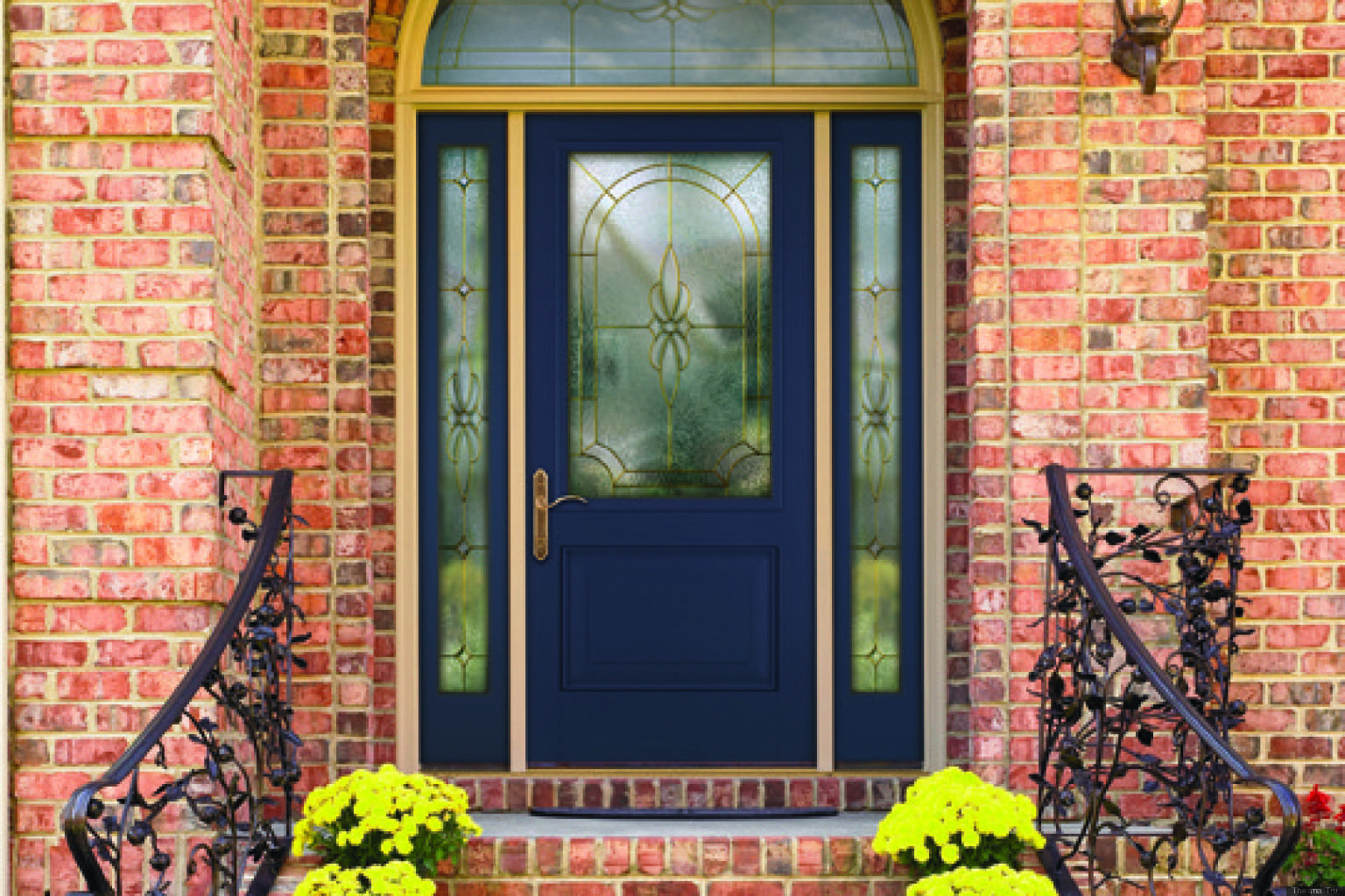 Your Front Door Color Has Say