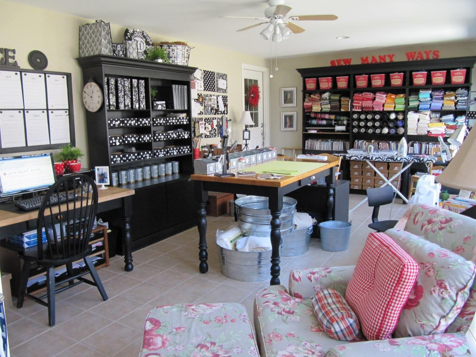 Your Hands Organizing Craft Room Inspiration