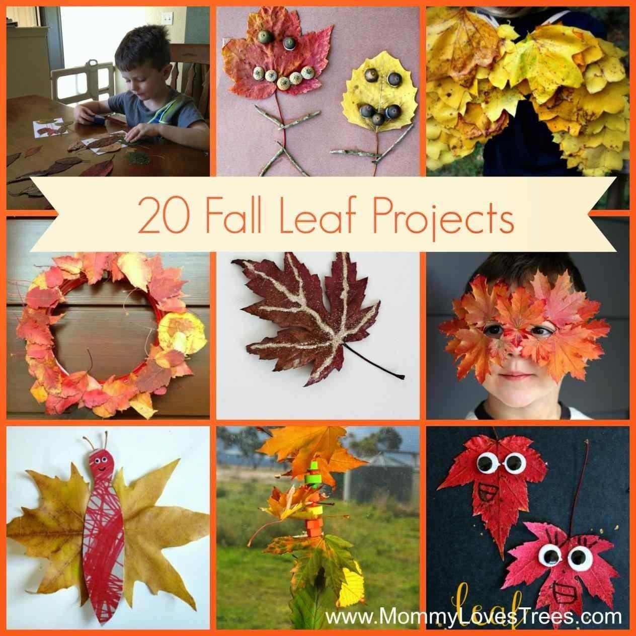 Your Try Fall Leaf Craft Ideas Kids Diy