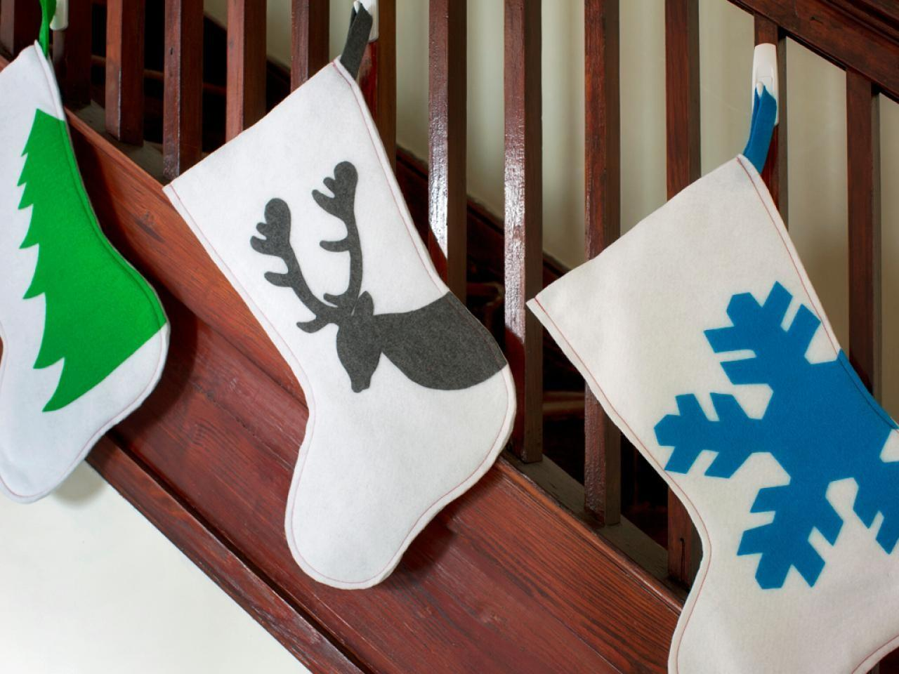 Yourself Christmas Stockings Easy Crafts