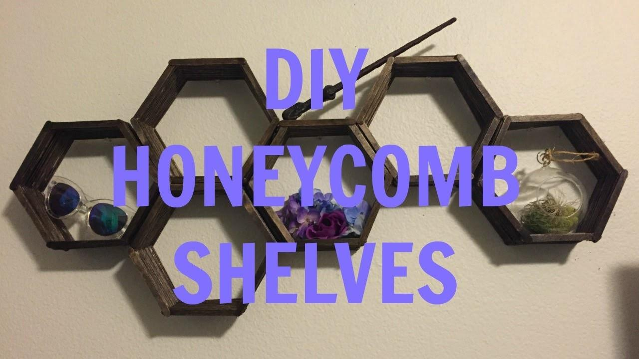 Yourself Honeycomb Shelves Therizzzza Diy