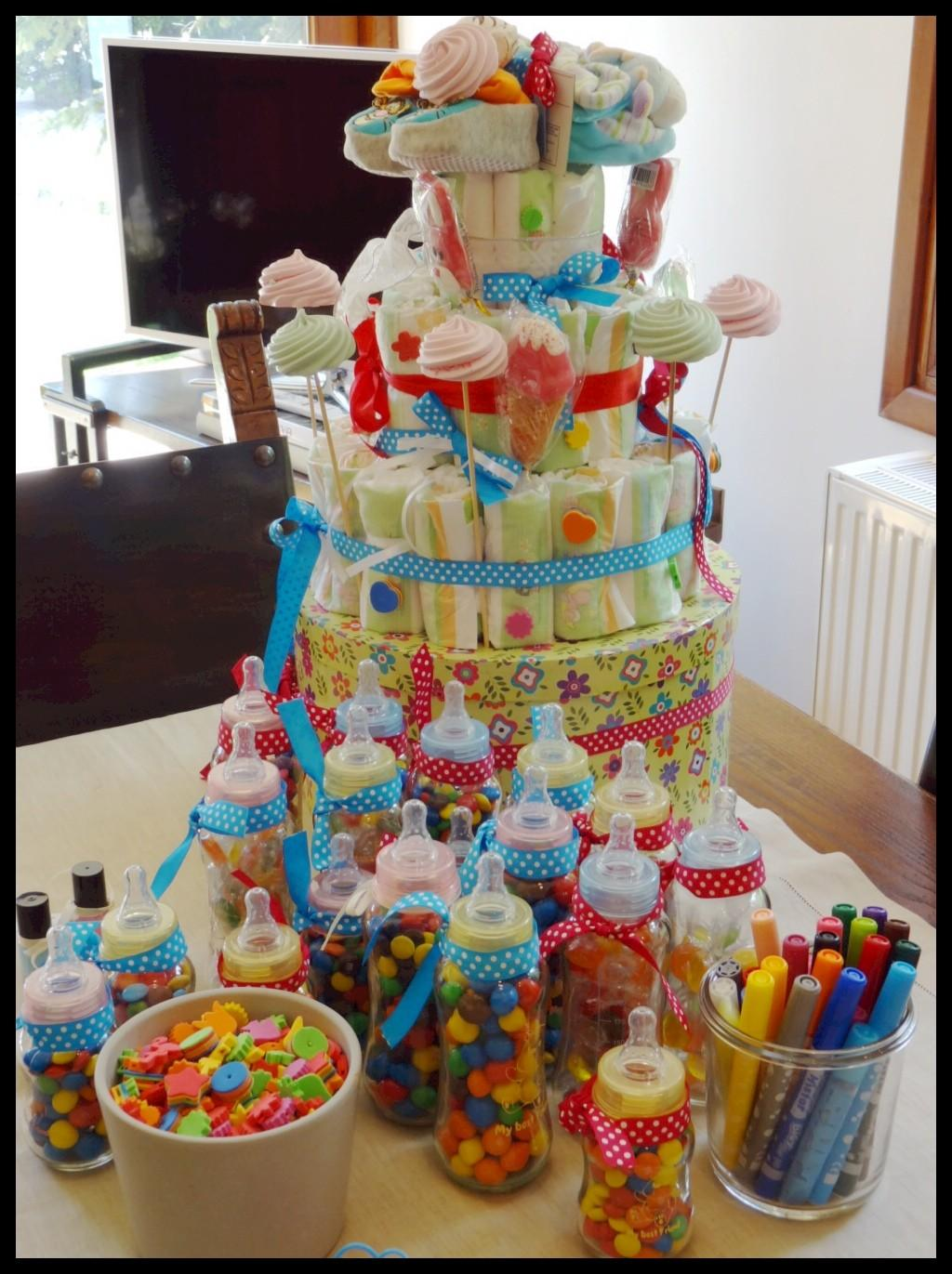 Yourself Party Decorations Diaper Cake Yoggi Way