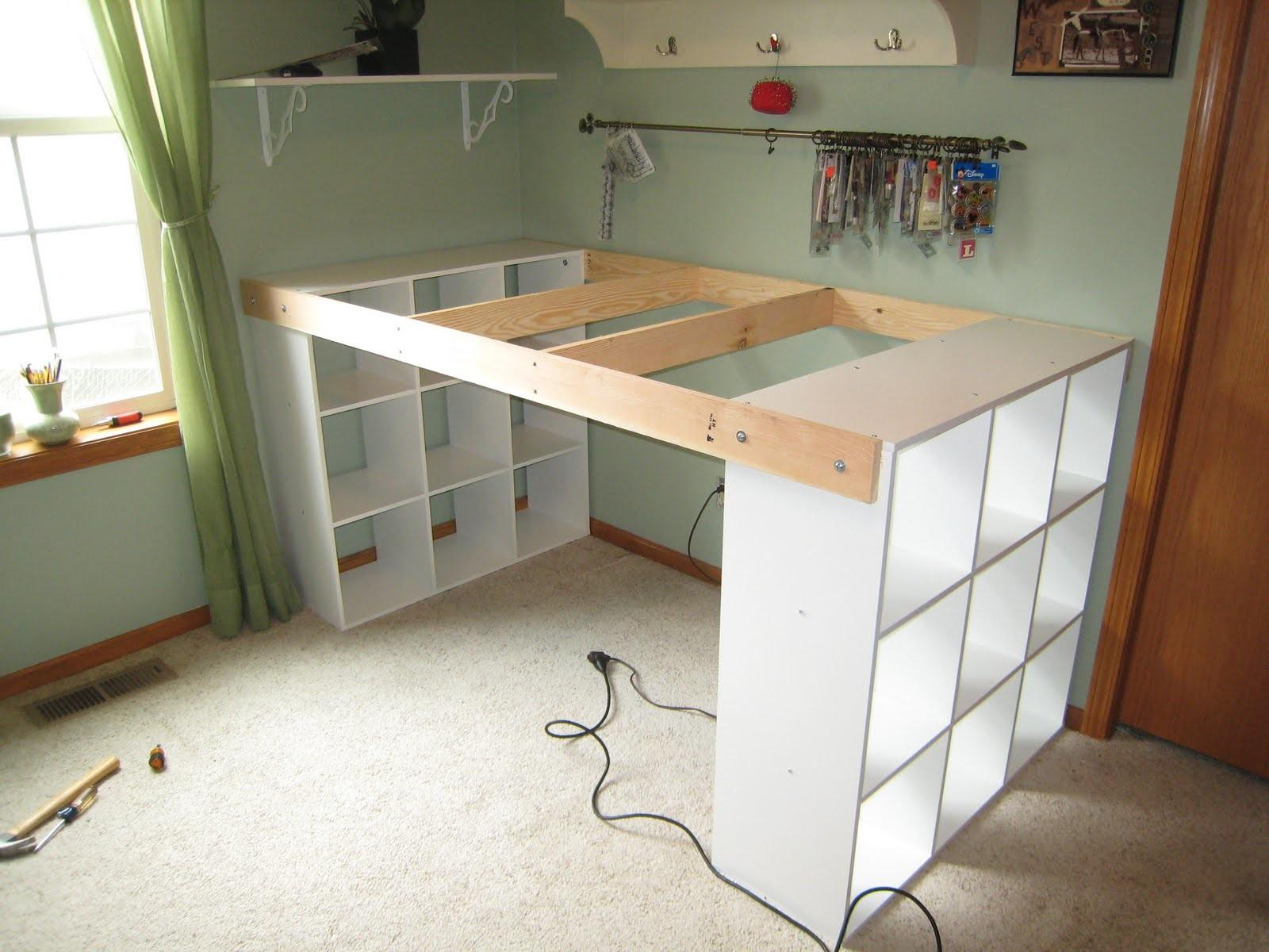 Yourself White Craft Desk