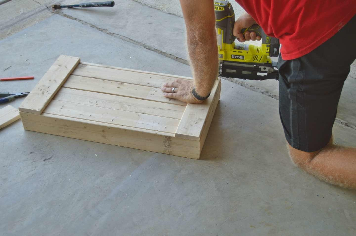 Yourself Wood Boot Tray Fixin