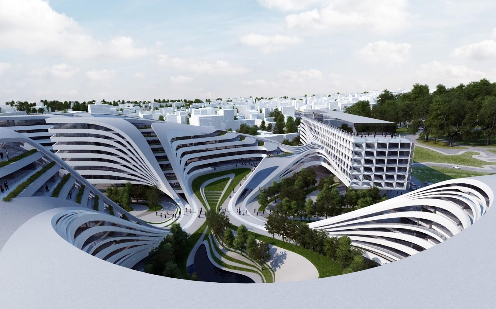 Zaha Hadid Architects Doing Their Magic Modern