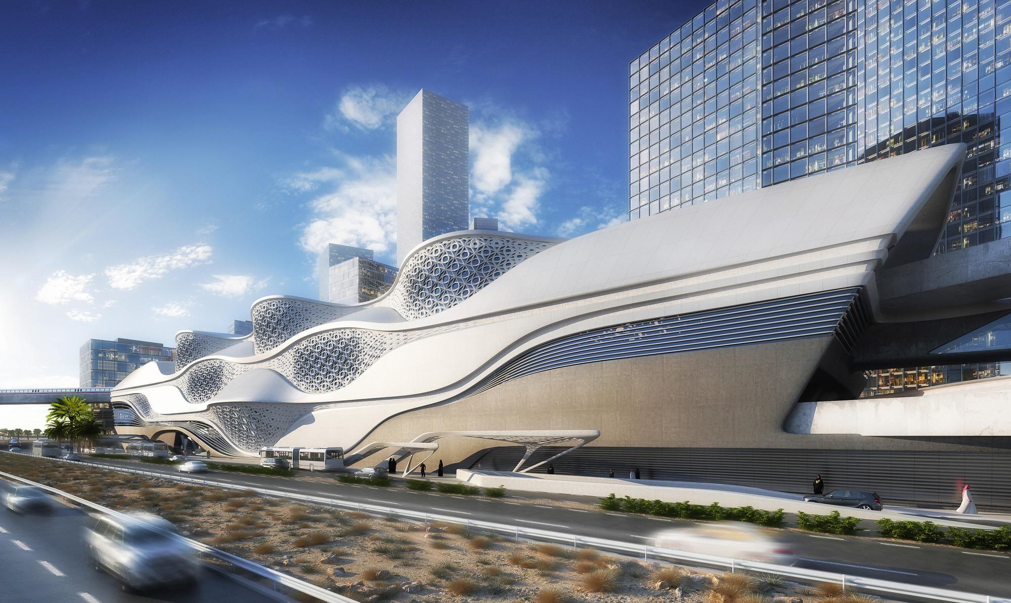Zaha Hadid Architects Selected Design King Abdullah