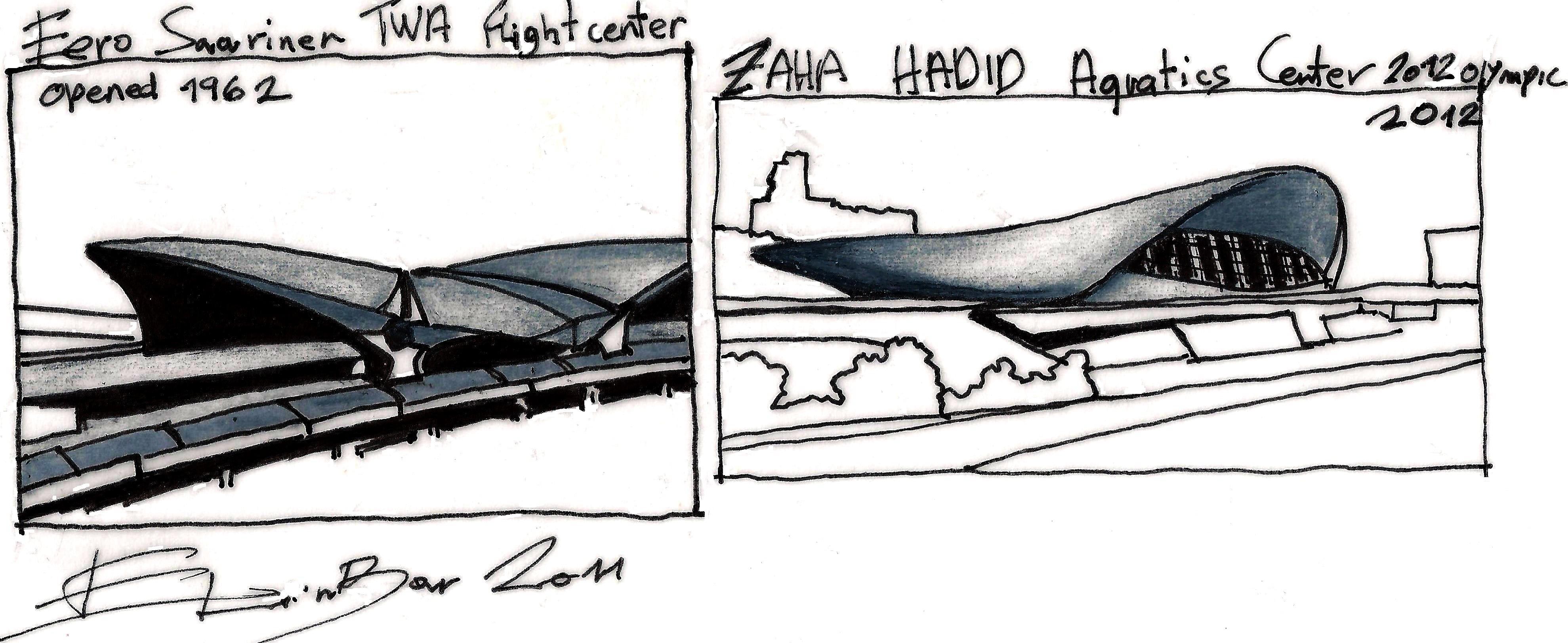 Zaha Hadid Inspiration Sources Someone Has Built Before