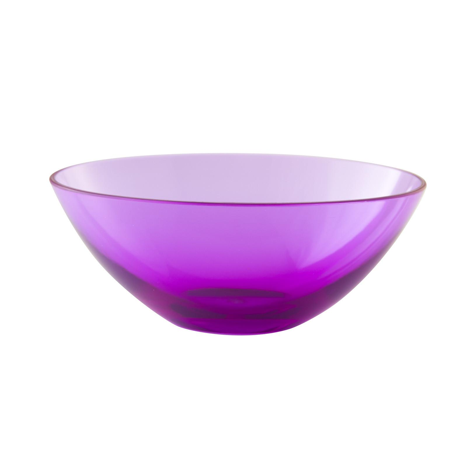 Zak Designs Orb Medium Oval Serving Bowl Inch Orchid
