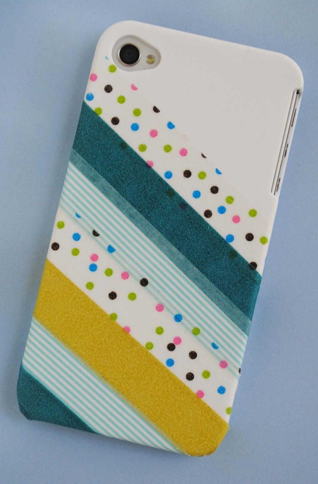 Zakka Life Craft Washi Tape Phone Cover