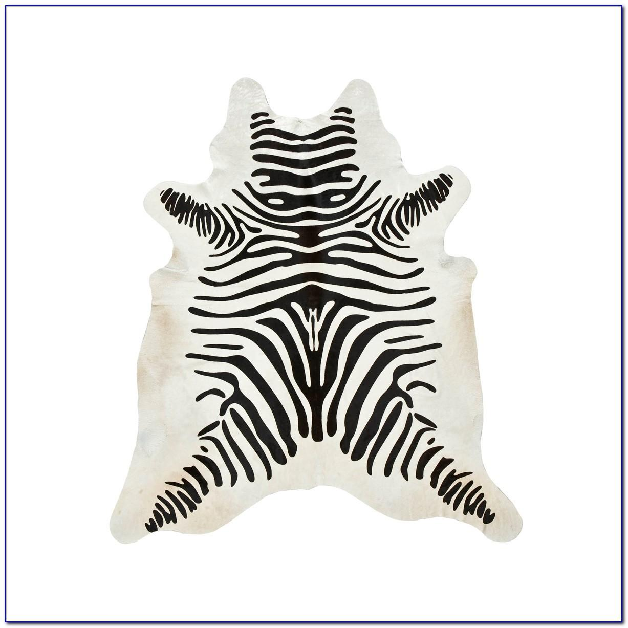Zebra Cowhide Rug West Elm Rugs Home Design Ideas