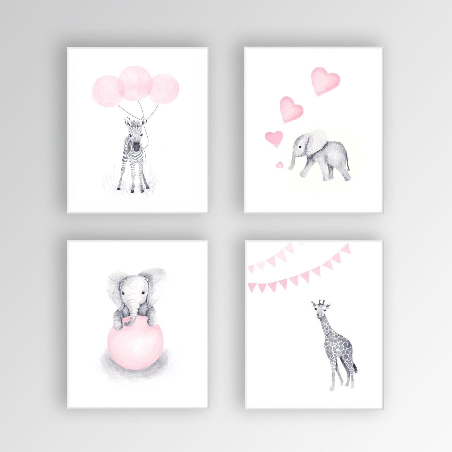 Wonderful Girls Nursery Artwork Ideas That Are Totally Worth To Visit Them Look Fabulous Decoratorist