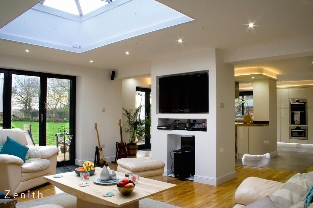 Zenith Architecture Oxford Bungalow Extension Remodeliing