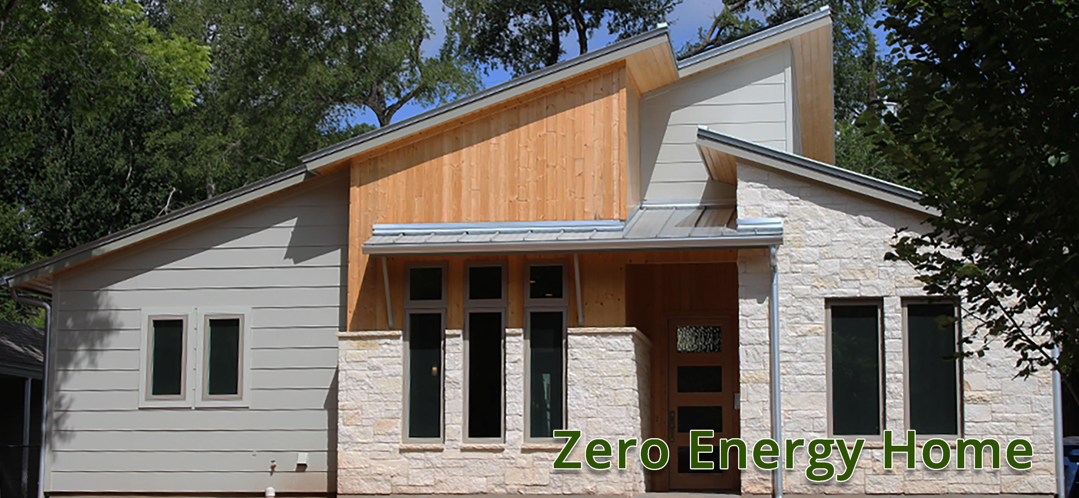 Zero Energy Home Sustainable Building