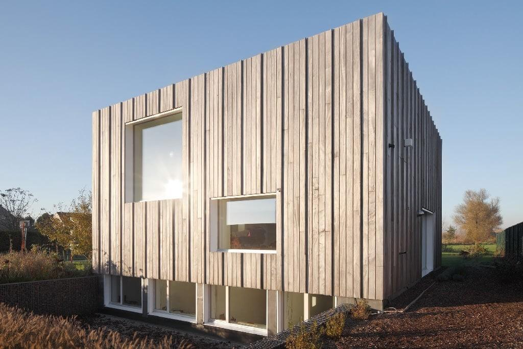 Zero Energy House Blaf Architecten Wooden Cube