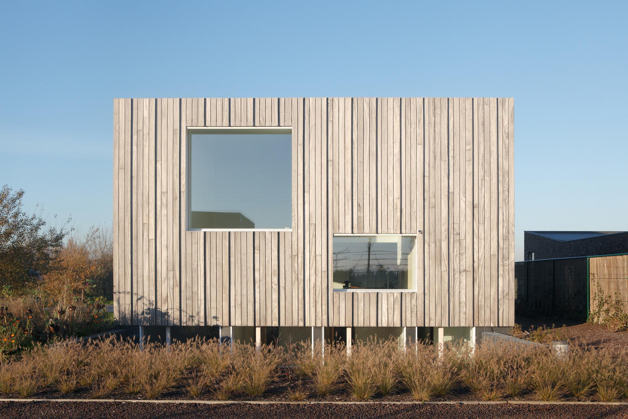 Zero Energy House Lokeren Blaf Architecten