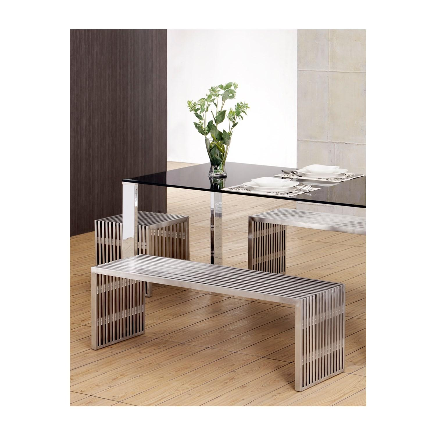 Zuo Modern Furniture Novel Single Bench